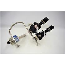 GEMU Type 605 Diaphragm Valves Wedgewood B605FENNNK1K Flow Cell Z1546 Indicator