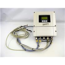 Endress & Hauser Promag 53, 53H15-9F0B9AC2ABAA Transmitter f/Amersham BioProcess