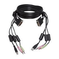 Avocent 6FT USB Audio DVI KVM Cable/Dongle CBL0025