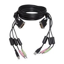 Avocent 6FT USB Audio DVI KVM Cable/Dongle CBL0025