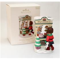 Hallmark Club Series Ornament 2010 Christmas Window #8 - Pastry Shop - #QXC1001