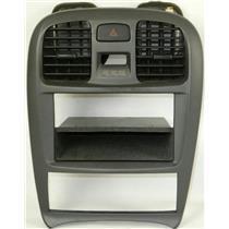 2002-2005 Hyundai Sonata Radio Climate Dash Trim Bezel w/ Vents & Hazard Switch