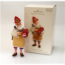 Hallmark Keepsake Series Ornament 2008 Toymaker Santa #9 - Fireman - #QX7121