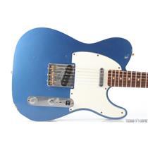 Fender Custom Shop 1960 Relic Telecaster Lake Placid Blue Guitar w/ Case #30251