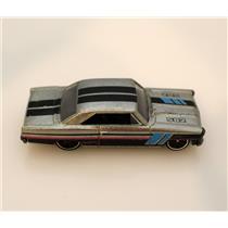 Hot Wheels Grey 66 Chevy Nova 502 - LOOSE - #HW66502