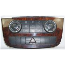 2006-10 Mercedes R350 Center Dash Climate Control Bezel w/ Auto Climate Controls