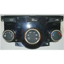 2010-2013 Kia Forte Manual Climate Temperature Controls Chrome Trim A/C Button