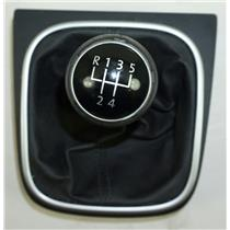 05-12 Volkswagen Jetta Shift Bezel w/ Shift Knob & Boot for Manual Transmission