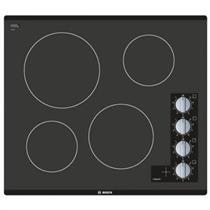 "Bosch 500 Series 24"" Infinite Temp Control BlackGlass Electric Cooktop NEM5466UC"