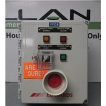 Edwards IQDP80/QMB500 Dry Pump Emergency Shut Off/Alarm Controller Control Box