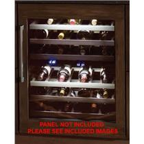 Thermador 24 Inch 41-Bottle Capacity CP Undercounter Wine Reserve T24UW800RP