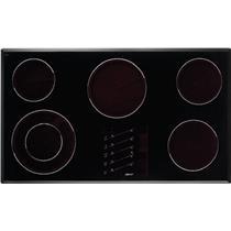 "DACOR Renaissance 36"" 5 Ribbon Element Black Smoothtop Electric Cooktop ETT3652S"
