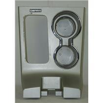 2007-2010 Lincoln MKX Shift Floor Trim Bezel w/ SYNC 2 Cup Holders & Chrome Trim