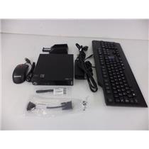 Lenovo 10AY008CLS ThinkCentre M73 Tiny desktop i5-4590T 2GHz 4GB 500GB W7P64