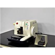 Leica RM2155 Rotary Microtome Histology Tissue Sectioning w/ Switch 2155