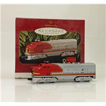 Hallmark Ornament 1997 Lionel Trains #2 - 1950 Santa Fe F3 Locomotive QX6145-SDB