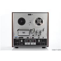 "Akai GX-220D 4 Track 1/4"" Analog Tape Solid State Stereo Reel Machine #31080"