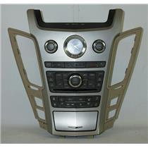 2008-2014 Cadillac CTS Radio Climate Dash Trim Bezel w/ Clock & Auto Climate NAV