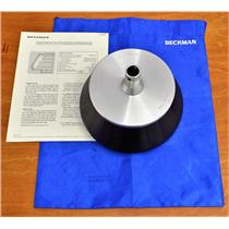 Beckman Coulter Type 30 Fixed Angle Centrifuge Rotor 12x 38.5 tubes Aluminum