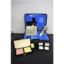Konica Minolta CR-300 Handheld Chroma Meter w/ Travel Case Colorimeter