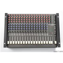 Mackie CR1604 16 Channel Mic/Line Mixer w/ Snake Cables & Rack Ears #31102