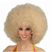 Blonde Deluxe Mega Afro Fro Wig