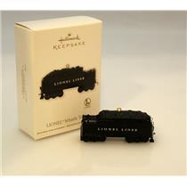 Hallmark Keepsake Ornament 2011 Whistle Tender - Lionel Trains - #QXI2177