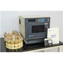 CEM MDS-2100 Microwave Digestion System Oven and 21 Digestion Vessels