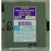 2003-2009 Toyota 4Runner Transfer Case 4WD Control Computer Module TCCM TCCU