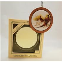 Hallmark Series Ornament 1984 Holiday Wildlife #3 - Ring-Necked Pheasant #QX3474