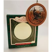 Hallmark Ornament 1985 Holiday Wildlife #4 - California Partridge - #QX3765-SDB