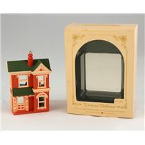 Hallmark Ornament 1984 Nostalgic Houses and Shops #1 Victorian Dollhouse #QX4481