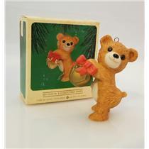 Hallmark Series Ornament 1984 Porcelain Bear #2 - Cinnamon Bear - #QX4541-SDB