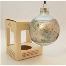 Hallmark Keepsake Glass Ball Ornament 1984 Grandmother - #QX2441-DB