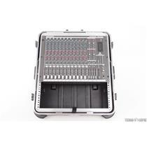 Behringer Eurorack MX2642 24-Input 4-Bus Mixer w/ PSU & SKB Rack Case #31492