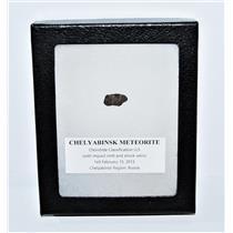 CHELYABINSK METEORITE Chondrite 2013 Russian Fall 1.0 gm plus COA MDB #13697 7o
