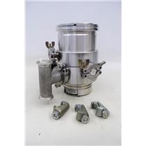 Oerlikon Leybold Turbo Molecular High Vacuum Pump Turbovac 151 C Fabr. Nr. 85635