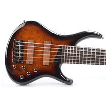 2017 MTD Michael Tobias Kingston Z 6-String Sunburst Bass Guitar w/ Case #31754