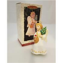 Hallmark Series Ornament 1996 Christmas Visitors #2 - Christkindl - #QX5631