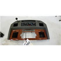 2006-2009 Dodge Ram 2500 3500 Laramie center dash bezel tag as12552