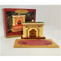 Hallmark Magic Ornament 1993 Flickering Light Fireplace - Bearingers - #XPR9749