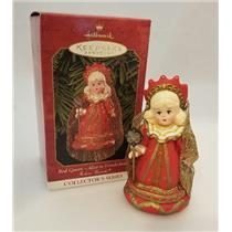 Hallmark Keepsake Series Ornament 1999 Madame Alexander #4 Red Queen #QX6379-SDB