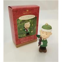 Hallmark Keepsake Ornament 2000 Linus - A Snoopy Christmas - #QRP4204-SDB
