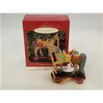 Hallmark Keepsake Series Ornament 1999 A Pony For Christmas #2 - #QX6299-SDB