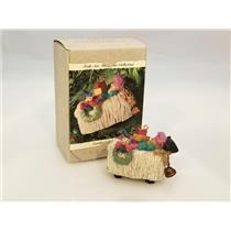 Hallmark Keepsake Ornament 1994 Catching 40 Winks - Folk Art Americana - #QK1183