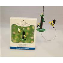 Hallmark Ornament 2001 Spring is in the Air #2 - American Goldfinch - #QEO8535