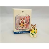Hallmark Spring Series Ornament 1998 Garden Club #4 - #QEO8426