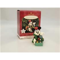Hallmark Ornament 1999 Hallmark Archives #3 - Minnie Trims The Tree - #QXD4059