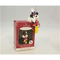 Hallmark Ornament 1998 Mickeys Parade #2 - Minnie Plays the Flute - #QXD4106