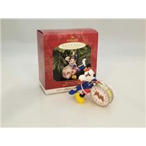 Hallmark Ornament 1997 Mickey's Holiday Parade #1 - Bandleader Mickey - #QXD4022